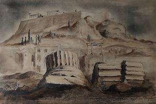 Cees Bantzinger - Akropolis, Athene