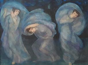 Pieter C. de Moor - De drie gratiën