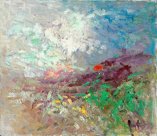 Anton Buytendijk, Amsterdam 1913-2002Amsterdam, 'Voorjaar in Normandië', olieverfop doek, 60 x 70cm., gesigneerd rechtsonder.
