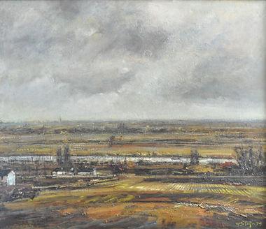 Wim Steijn - De Maas bij Maastricht