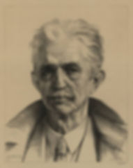 Dirk Harting - Portret van Oscar Mendlik