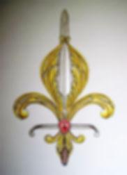 Epée de sainte Jeann d'Arc, Louis Chiren, Croix de la triple donation, Domrémy-La-Pucelle