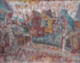 Hubertus van der Vloot - Dorpsgezicht