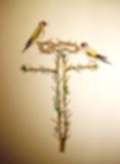 L'aubépine le signe du roi, Louis Chiren, couronne d'épines, chardonneret,