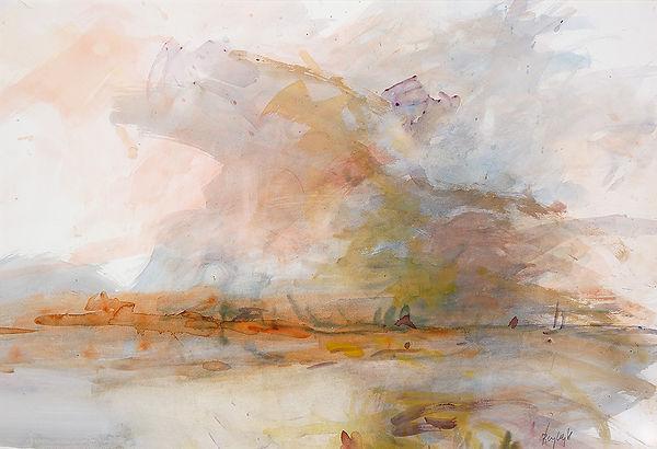 Anton Buytendijk, Spanje, olieverf op doek, 160 x 150 cm.
