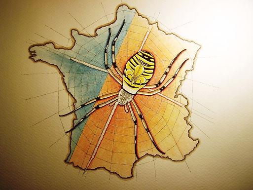 la toile divine, les desseins de Dieu, la France fille aînée de l'Eglise, Louis Chiren