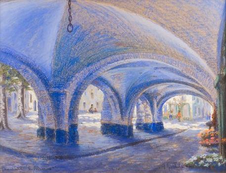 Albert Goethals - Beaucaire, les Arcades