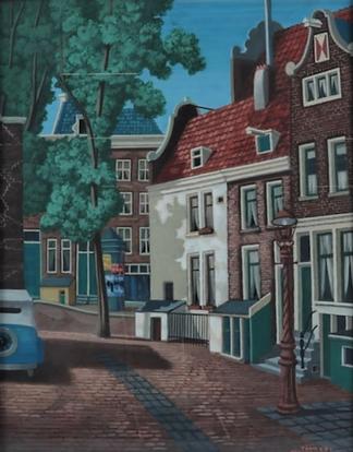 Toon van den Muijsenberg - Westermarkt, Amsterdam