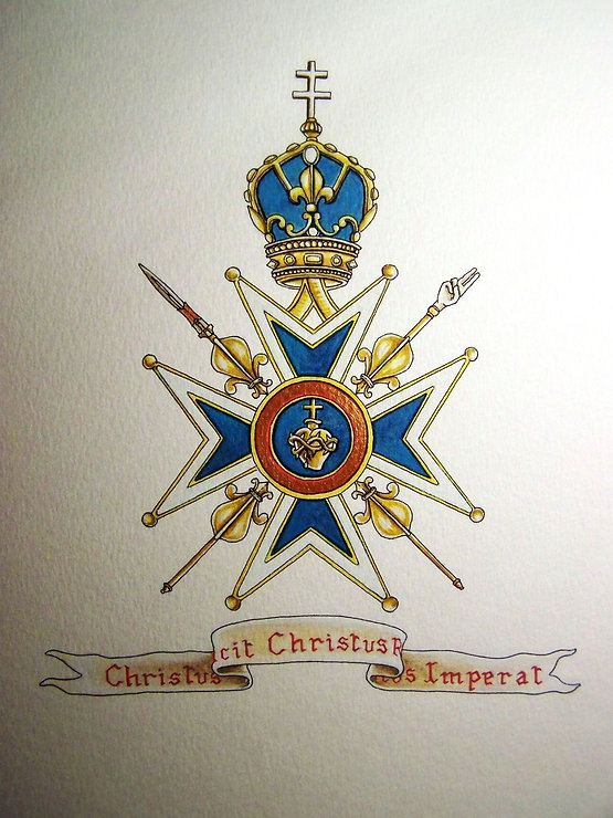 Croix de la Victoire du Sacré-Coeur de Jésus par Louis Chiren