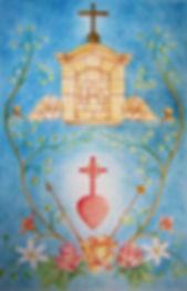 Le roi du Sacré-Coeur, par Louis Chiren