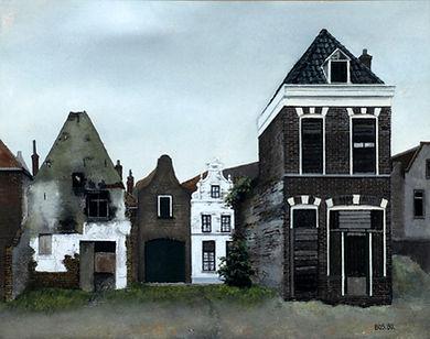 Jan Bos - Papenstraat in Deventer