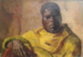H.F. Boot - Portret van een Oosterse man