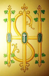 IHS le saint nom de Jésus par Louis Chiren
