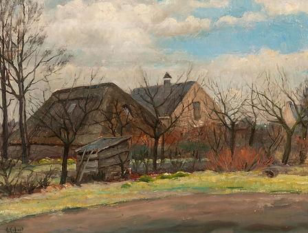 Arnout Colnot - Boerderijen in winter