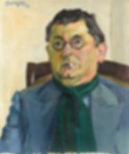 George Robèr - Portret van de heer E. Jansen