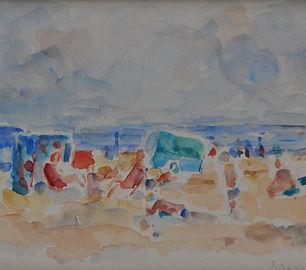 Friso ten Holt - Strandgezicht, 1976