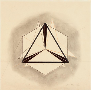 Peter Lobello - Drawing for Folding Equilateral Triangle