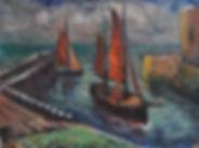 Ewoud de Kat - De haven van Veere
