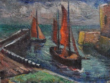 Ewout de Kat - De haven van Veere
