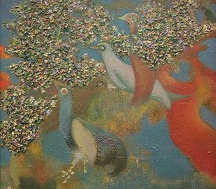 Dolf Henkes - Vogels aan de Linge