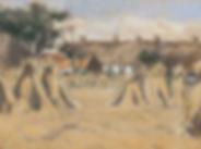 Salomon Garf - Korenschovenbij een boerenerf