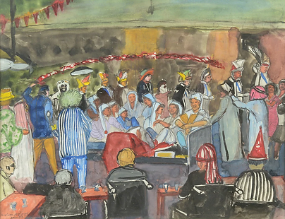 Henri Willem van Meines - Carnavalsoptocht