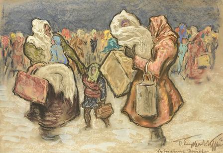 Otto Engelhardt-Kyffhauser - Vertriebene mütter
