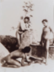 Wilhelm von Gloeden - Drie Siciliaanse jongens