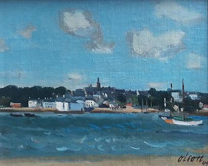 Nils Ove Olson - Parijs aan de Seine