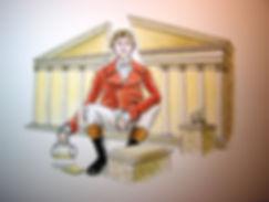 le Pantagruel républicain, Gargantua l'orgre fameux, la république gourmande et dominante des Jacobins, révolution française, palais Bourbon, assemblée nationale, Marie Julie Jahenny, avènement du roi