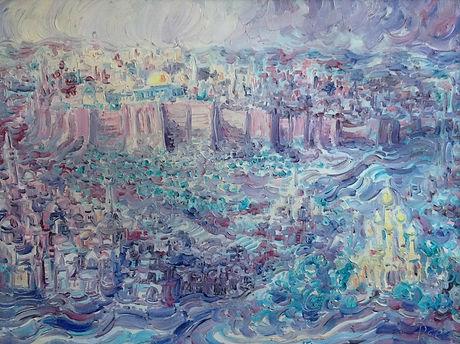 Yossi Stern - Zicht op Jerusalem