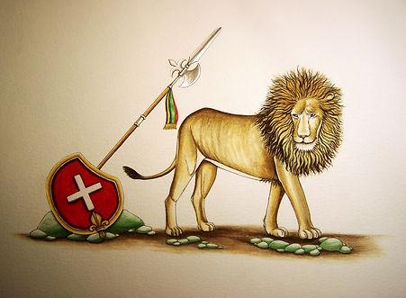 le lion de la tribu de Juda, Louis Chiren, le monument de Lucerne, Louis XVI, la garde Suisse des rois de France