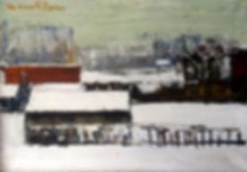Staf van Elzen - Winterlandschap
