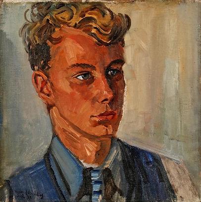 Marius Richters - Portret van Han Richters