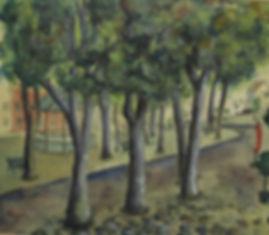 Arnold Neujean - Dorpsplein