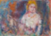 Anton Buytendijk, Amsterdam 1913-2002Amsterdam, 'Prostituee, Amsterdam', olieverfop doek, 70 x 100cm., gesigneerd rechtsonder, niet gedateerd.