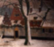 Adriaan Miolée - Het armenhuis, vroeger pest- en dolhuys in Haarlem