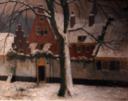 Adriaan Miolée - Het armenhuis, vroeger