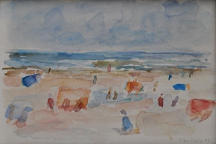 Friso ten Holt - Strandgezicht, 1977