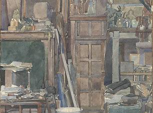 Henri Fréderic Boot - In het atelier