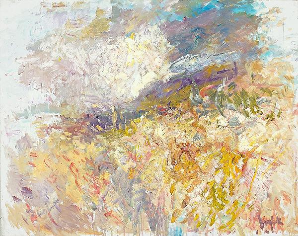 Anton Buytendijk, Amsterdam 1913-2002Amsterdam, 'Heuvel in Zuid-Frankrijk', olieverf op doek, 95x 120cm., gesigneerd rechtsonder.