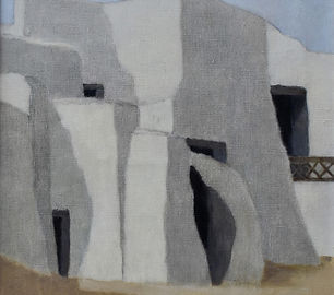 Johan Windhorst - Huizen in Noord-Afrika