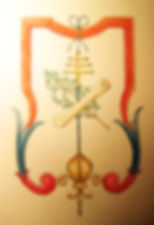 la révélation du roi par Louis Chiren, ville d'Antibes fidèle à la couronne de France