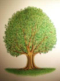 arbre de vie par Louis Chiren, livre de la genèse, l'origine du monde, l'arbre de la connaissance