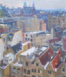 Joop Stierhout - Oudezijds Voorburgwal