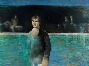 Joseph Cals - Portret van Rik van Dam