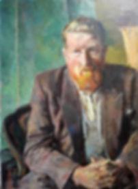 H.F. Boot - Portret van de schilder J.H. Willemse