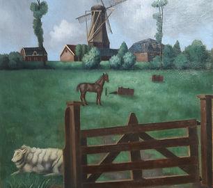 Toon van den Muijsenberg - Hollands landschap