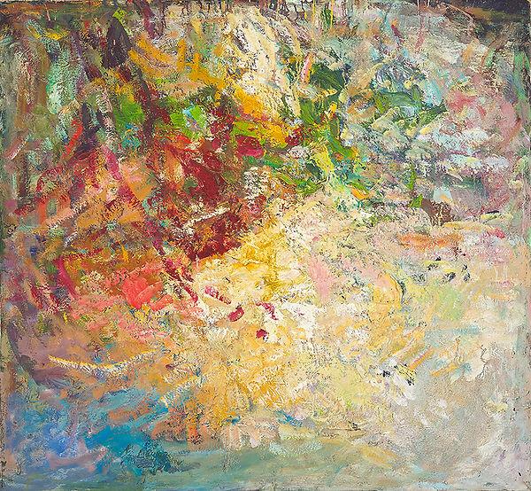 Anton Buytendijk, Amsterdam 1913-2002Amsterdam, ´Groningen´, olieverf op doek, 115x 125cm., gesigneerd linksonder.