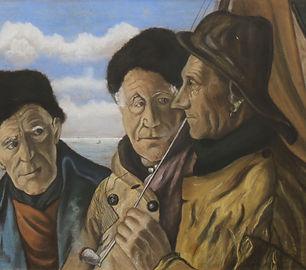 Theo van Delft - Volendammer vissers